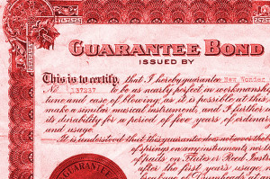 Sample of bond certificate